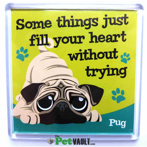 Pug Gift Magnet - The Pet Vault