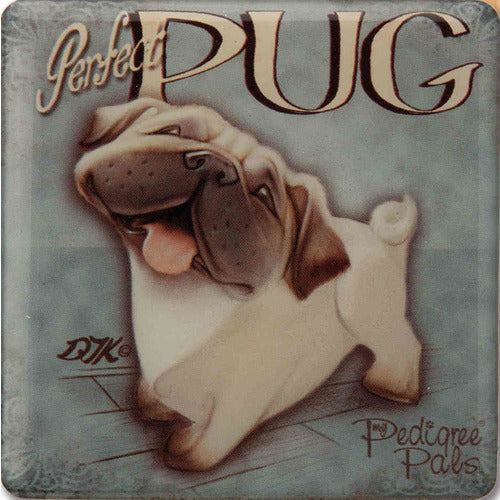Pug Gift Magnet with Stand - The Pet Vault