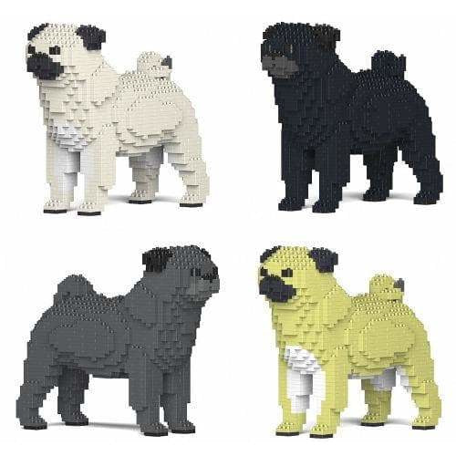 Pug Gift Ornament Model gift for Pug owner in four colours - by Jecka - The Pet Vault