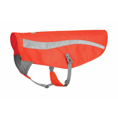 Ruffwear Track Jacket Hi-Vis Reflective Dog Coat - The Pet Vault