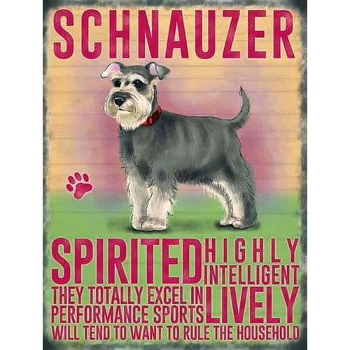 Schnauzer Magnet Gift - The Pet Vault