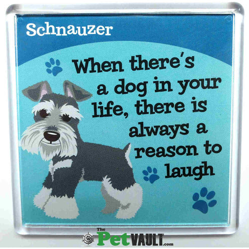 Schnauzer Gift Magnet - The Pet Vault