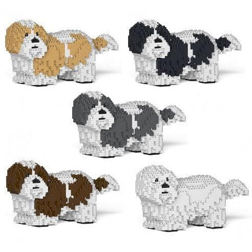 Shih Tzu Gift Ornament Model by Jekca, good gift for Shih Tzu lovers in five colours  - The Pet Vault