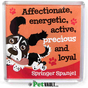 Black Springer Spaniel Gift Magnet - The Pet Vault