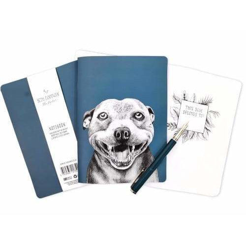 Staffy Gift Notebook by Goodchaps - The Pet Vault