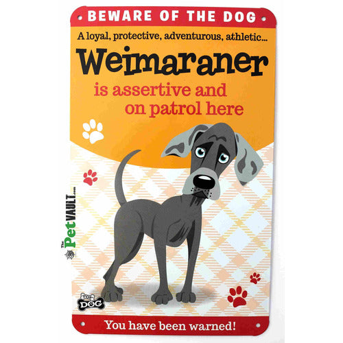 Weimaraner Gift Sign - The Pet Vault