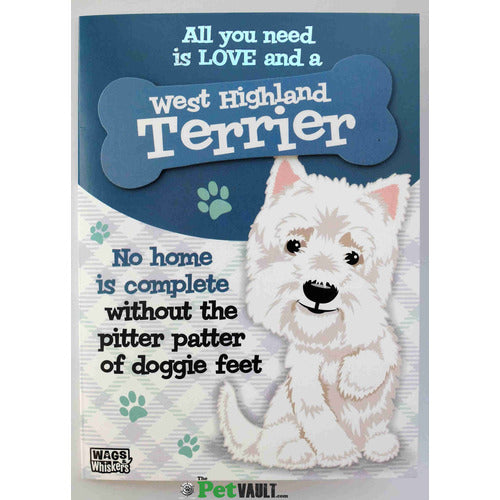 Westie Gift Greeting Card - The Pet Vault