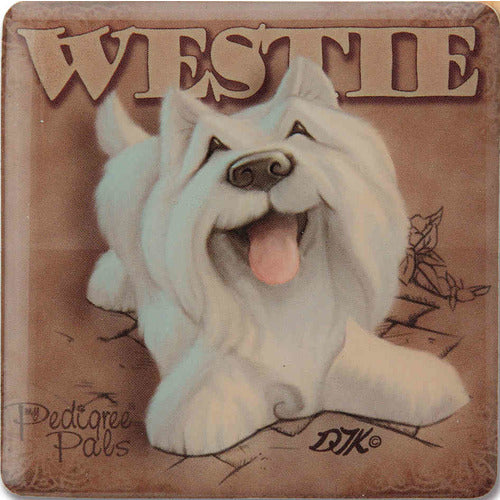 Westie Gift Magnet with Stand - The Pet Vault