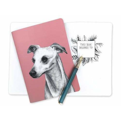 Whippet Gift Notebook by Goodchaps - The Pet Vault