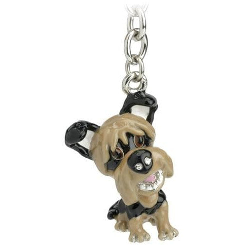 Yorkshire Terrier Gift Figurine Keyring - The Pet Vault