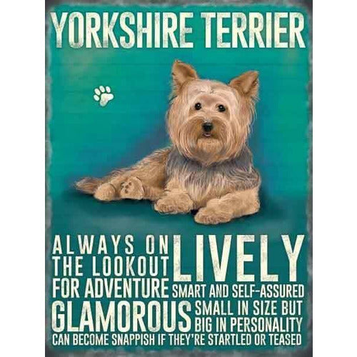 Yorkshire Terrier Magnet Gift - The Pet Vault