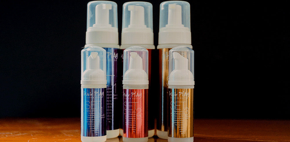 Hairplay SET hair foam product line