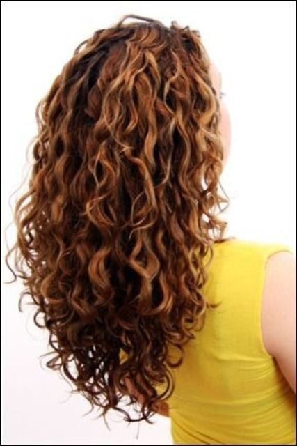 hairstyles for coarse curly hair photo