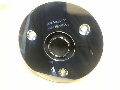 skin fitting 30mm 90DEGREE webasto heaters stainless steel  polished eberspacher - southern marine products