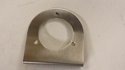 NEW STAINLESS STEEL EBERSPACHER DIESEL NIGHT BOAT HEATER VENT MOUNTING BRACKET - southern marine products