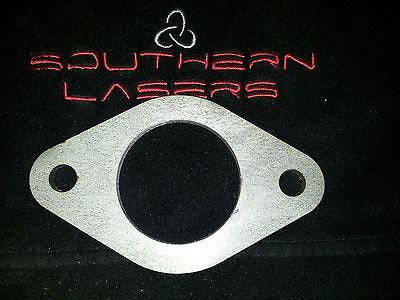 Exhaust flange, stainless Steel, Universal, 56mm , ford. ect decat - southern marine products