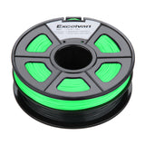 3D Filament 3.0mm ABS for Printer RepRap MarkerBot 1kg GREEN & BLACK UK stock - southern marine products