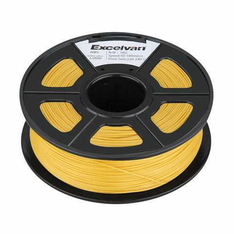 3D Filament 3.0mm ABS for Printer RepRap MarkerBot 1kg GOLD UK stock - southern marine products