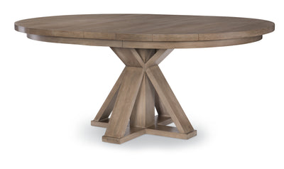 Breckenridge Round Pedestal Table-dining tables-Legacy Classic Furniture-Jennifer Furniture