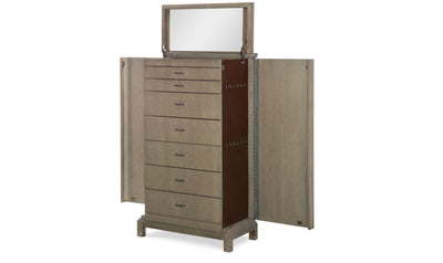 Highline Jewelry Chest-chests-Legacy Classic Furniture-Jennifer Furniture
