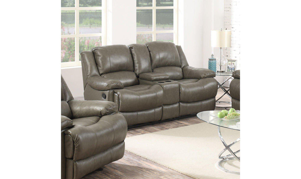 brown tepperman km s gray with power reclining abel loveseat bronze console espresso