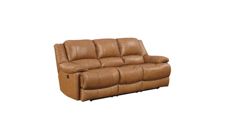 Transister Power Leather Reclining Sofa