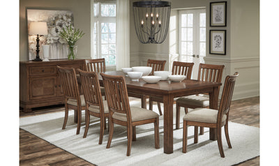 Oxford Place Rectangle Leg Table-dining tables-Legacy Classic Furniture-Jennifer Furniture