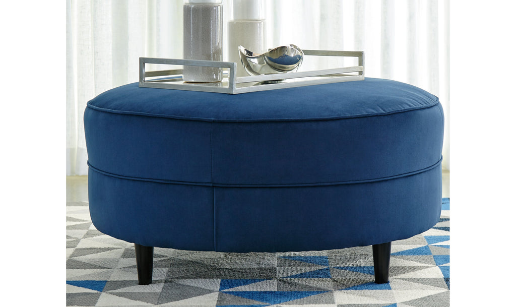 Erlin Enderlin Ink Oversized Accent Ottoman