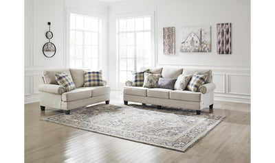 Meggett Living Room Set-living room sets-Ashley-Nautical-Sofa + Loveseat-Jennifer Furniture