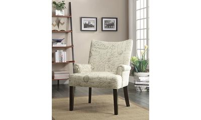 Mckenzie ACCENT CHAIR-Jennifer Furniture