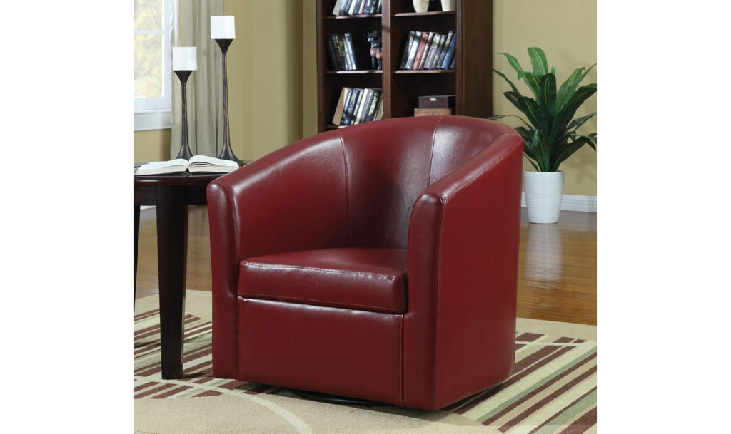 PASSOV ACCENT CHAIR  (RED)