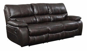 MOTION SOFA DARK BROWN-Jennifer Furniture