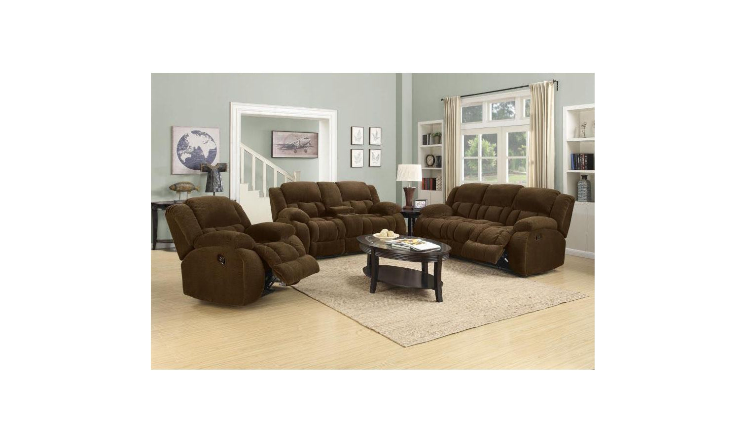 Wesson Motion CHOCOLATE Living Room Set