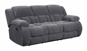 MOTION CHARCOAL SOFA-Jennifer Furniture