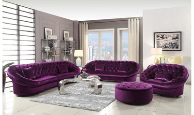 PURPLE CHAIR-Jennifer Furniture