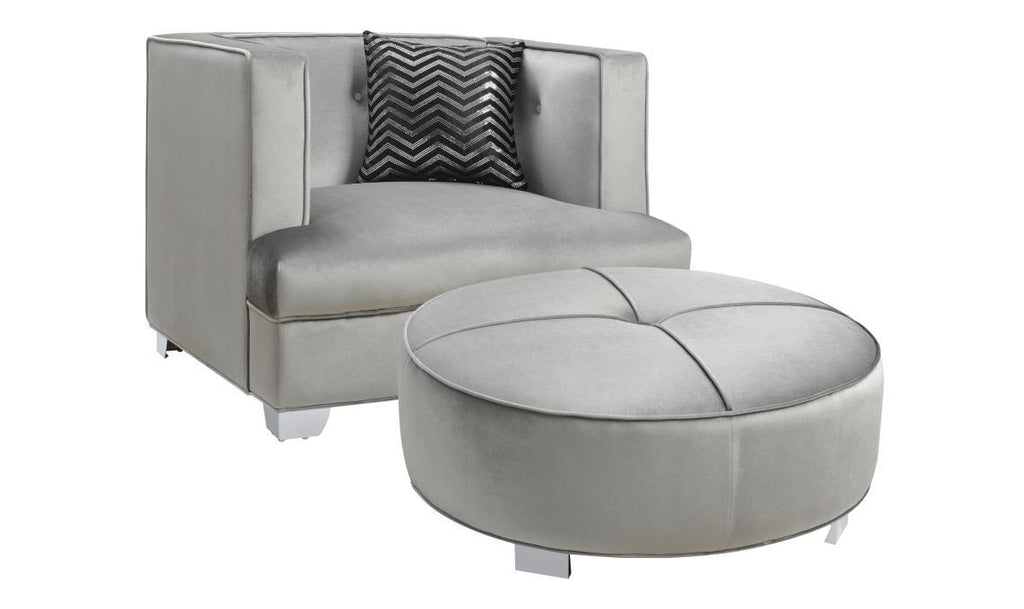 Caldwell Ottoman-Jennifer Furniture