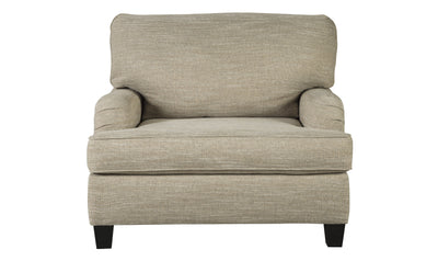 Almanza Chair-accent chairs-Ashley-Wheat-No Sleeper-Jennifer Furniture