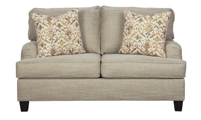 Almanza Loveseat-loveseats-Ashley-Wheat-No Sleeper-Jennifer Furniture