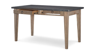 Monteverdi by Rachael Ray Metal Top Pub Table (VN)-dining tables-Legacy Classic Furniture-Jennifer Furniture