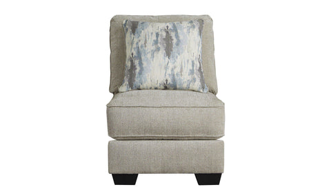 ACCENT CHAIR (WHITE/GREY/BLACK)