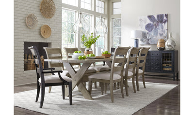 Breckenridge Rectangle Trestle Table-dining tables-Legacy Classic Furniture-Jennifer Furniture
