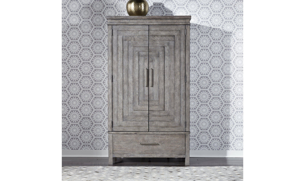 Modern Farmhouse Armoire-Jennifer Furniture