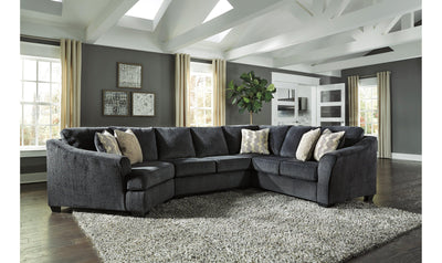 Eltman Sectional-sectionals-Ashley-Slate-Jennifer Furniture