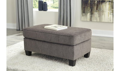 Namoli Ottoman-Ottomans-Ashley-Slate-No Sleeper-Jennifer Furniture