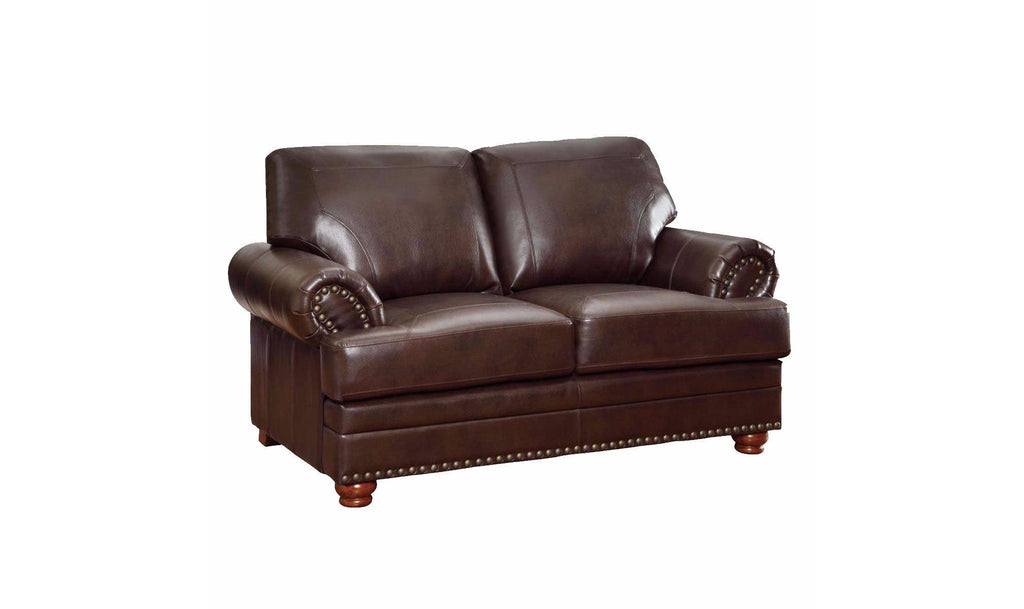 Colton Leather Loveseat
