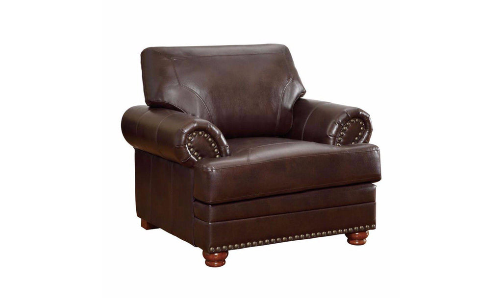 Colton Leather Sofa Chair