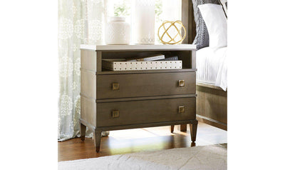 Playlist 2 Drawer Nightstand-Jennifer Furniture