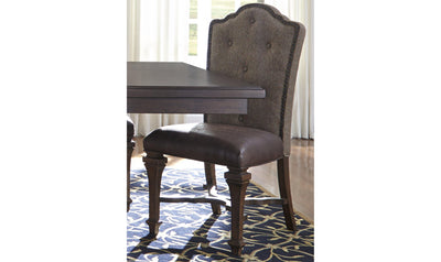 Lucca Dining Chair Pair-Jennifer Furniture