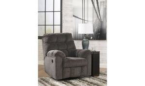 Acieona Swivel Rocker Recliner-Jennifer Furniture