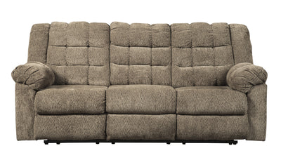 Workhorse Reclining Sofa-Sofas-Ashley-Cocoa-Jennifer Furniture